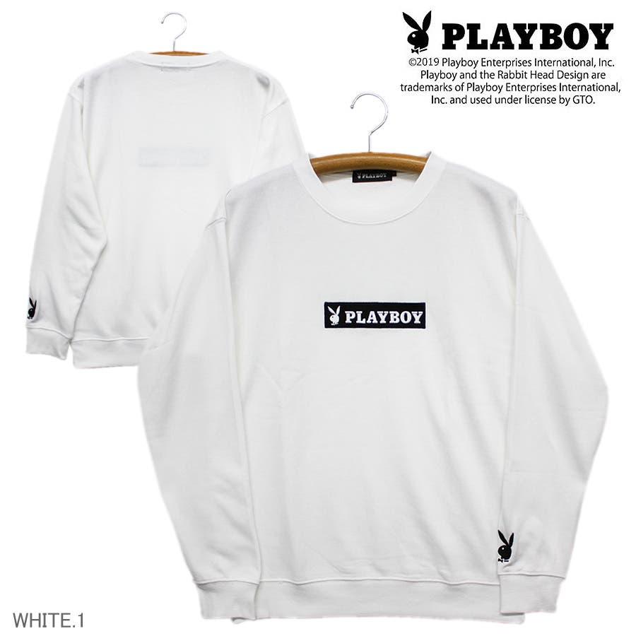 PLAYBOY ボックスロゴ BUNNY 16