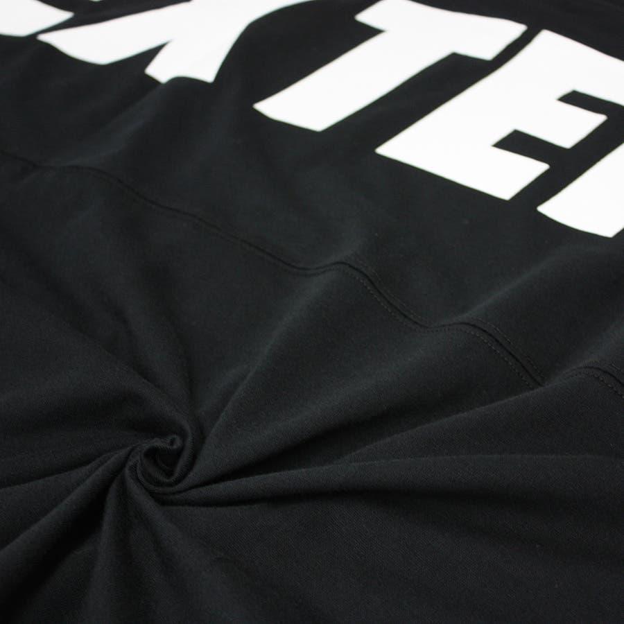 DEXTERITY ワイド ビッグ シルエット 切替 ストリート ドルマンスリーブ 半袖 Tシャツ レディース OK 8