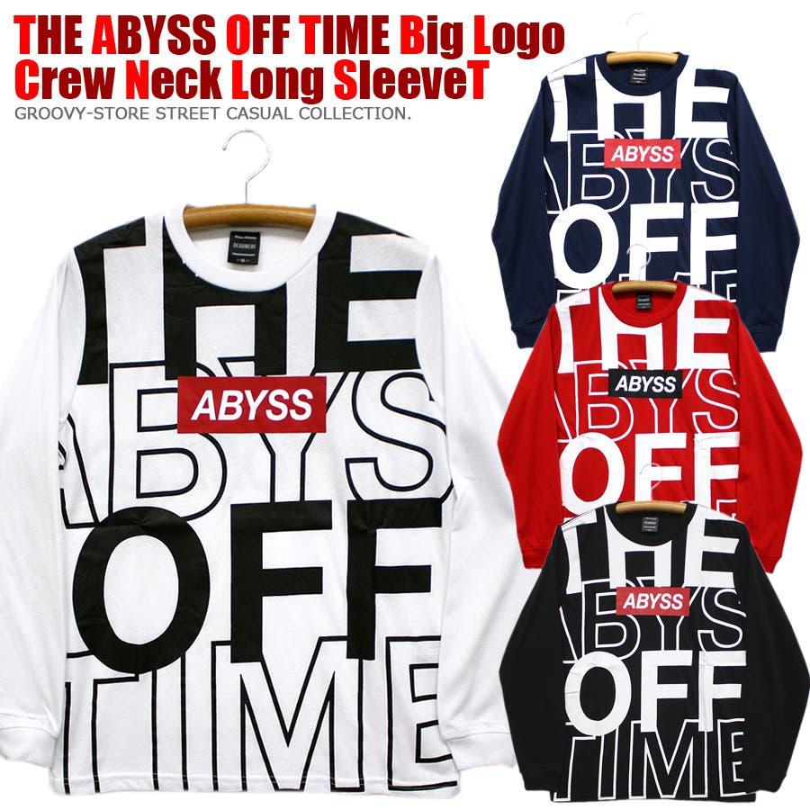 ABYSS ビッグロゴ ストリート ロングスリーブ Tシャツ ロンT レディース OK 1
