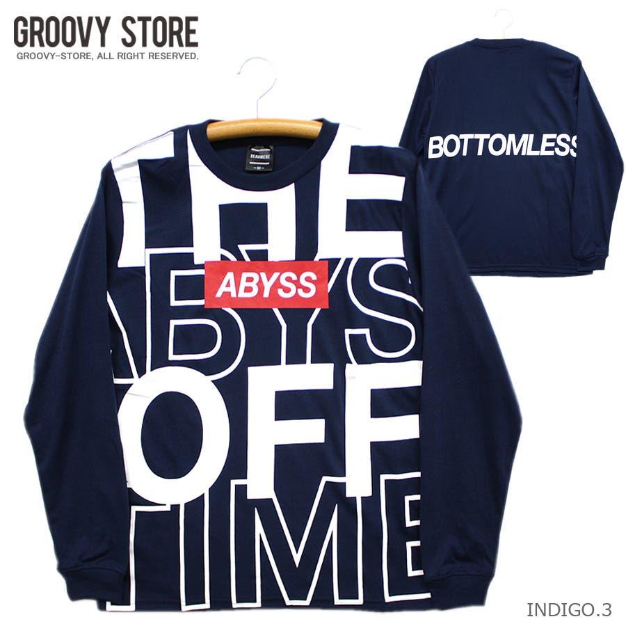 ABYSS ビッグロゴ ストリート ロングスリーブ Tシャツ ロンT レディース OK 70