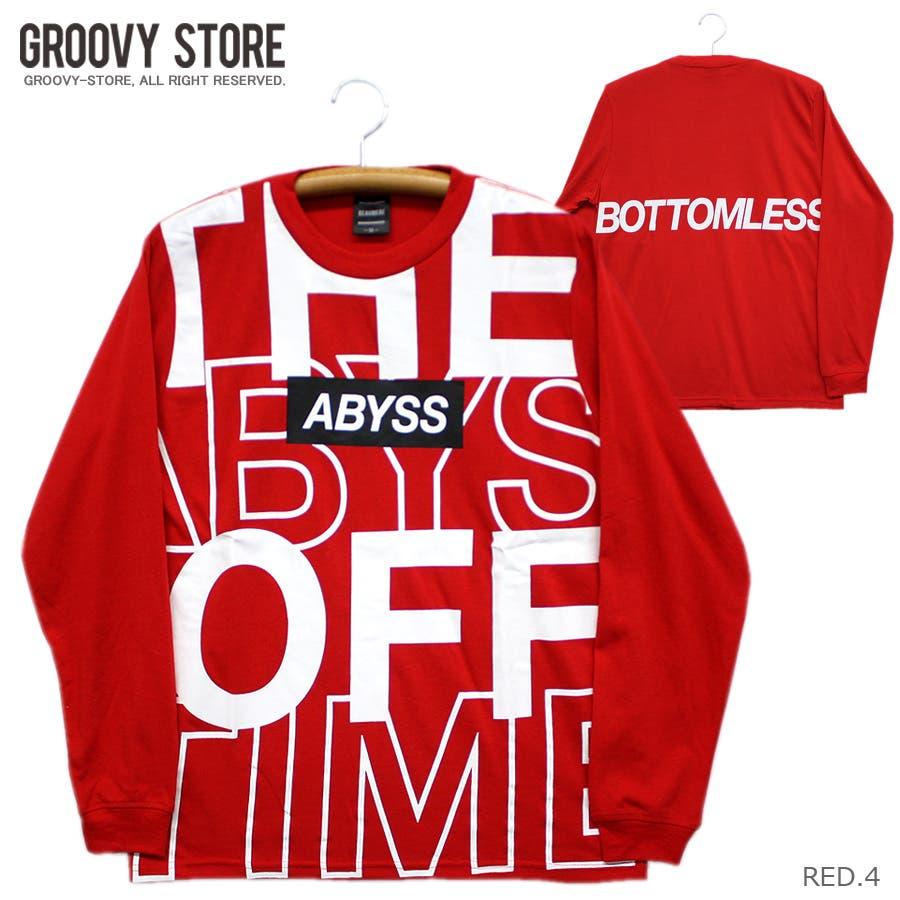 ABYSS ビッグロゴ ストリート ロングスリーブ Tシャツ ロンT レディース OK 94
