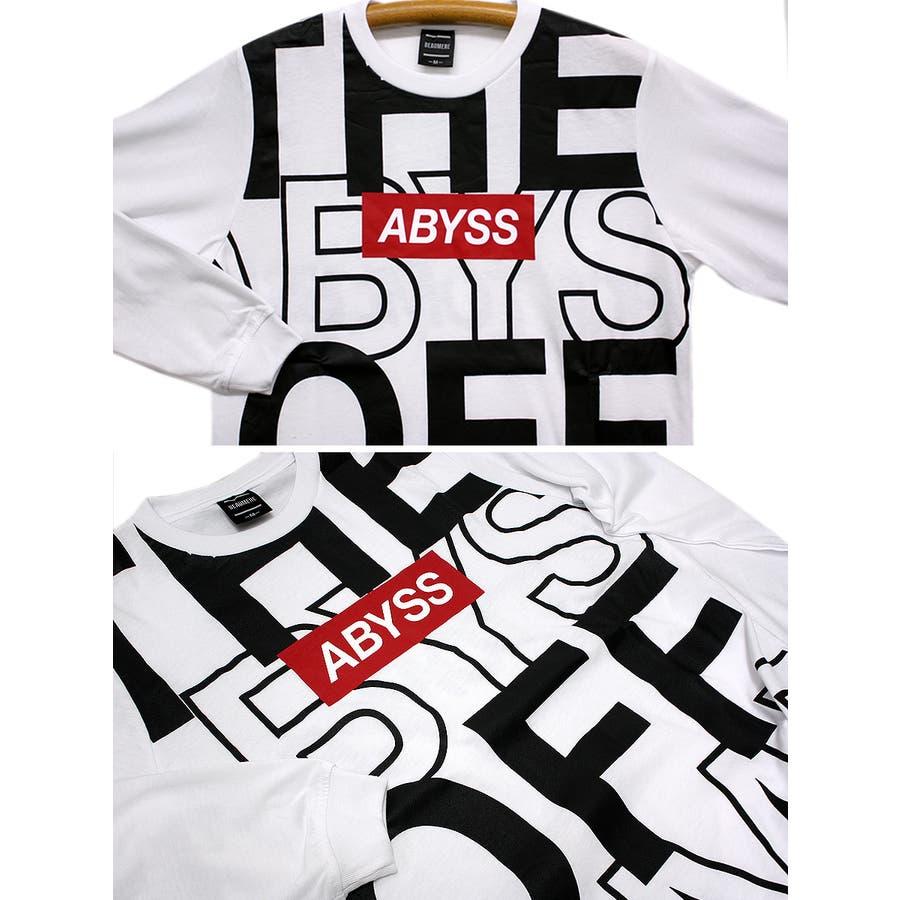 ABYSS ビッグロゴ ストリート ロングスリーブ Tシャツ ロンT レディース OK 6