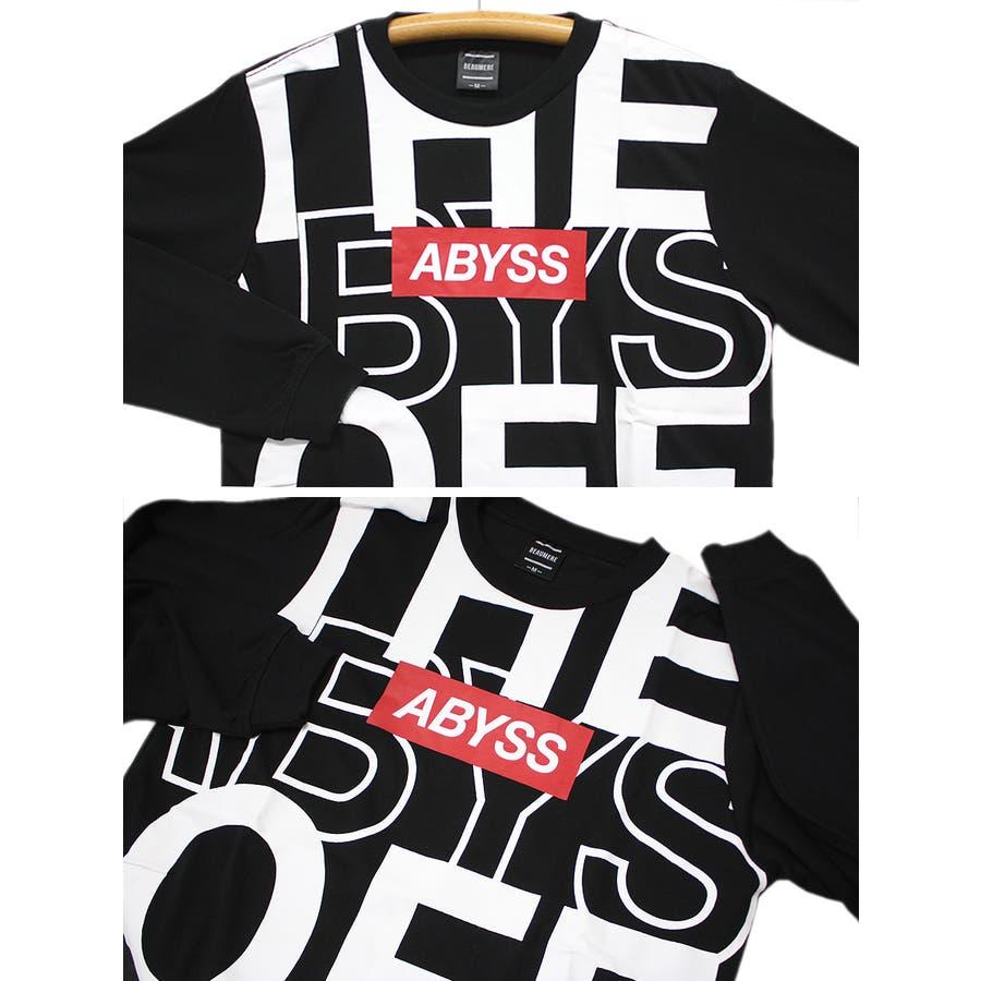 ABYSS ビッグロゴ ストリート ロングスリーブ Tシャツ ロンT レディース OK 7