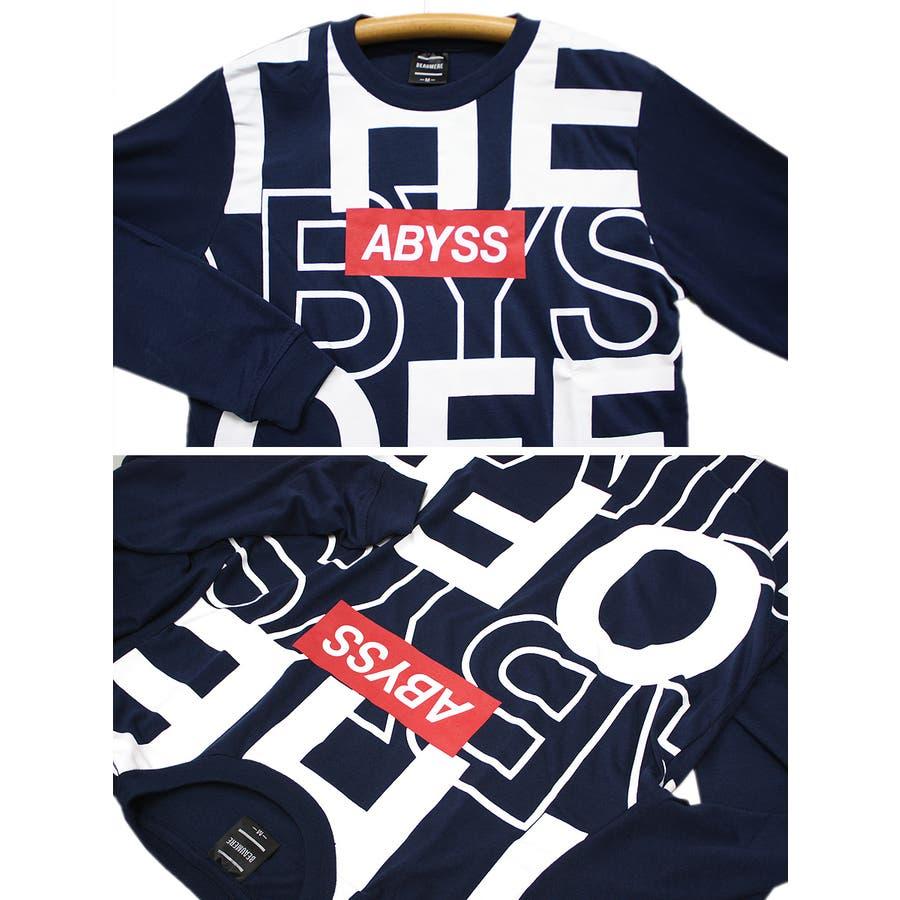 ABYSS ビッグロゴ ストリート ロングスリーブ Tシャツ ロンT レディース OK 8