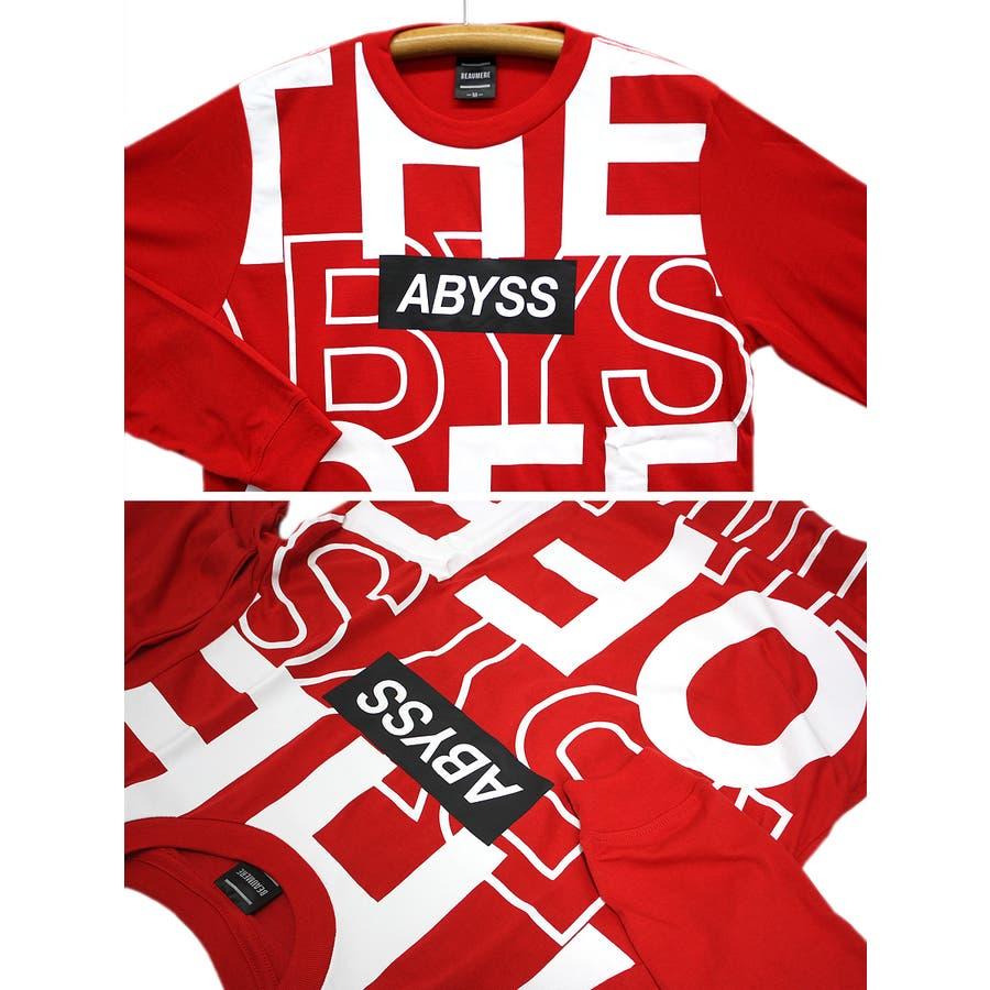 ABYSS ビッグロゴ ストリート ロングスリーブ Tシャツ ロンT レディース OK 9