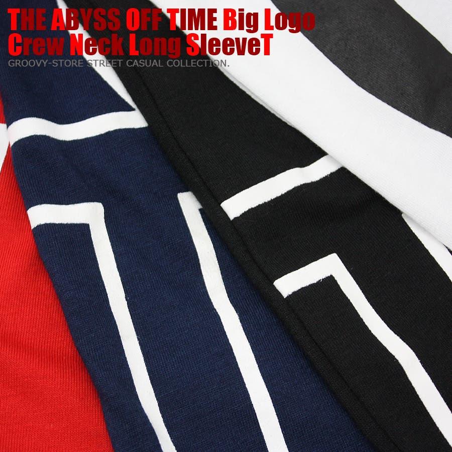 ABYSS ビッグロゴ ストリート ロングスリーブ Tシャツ ロンT レディース OK 10