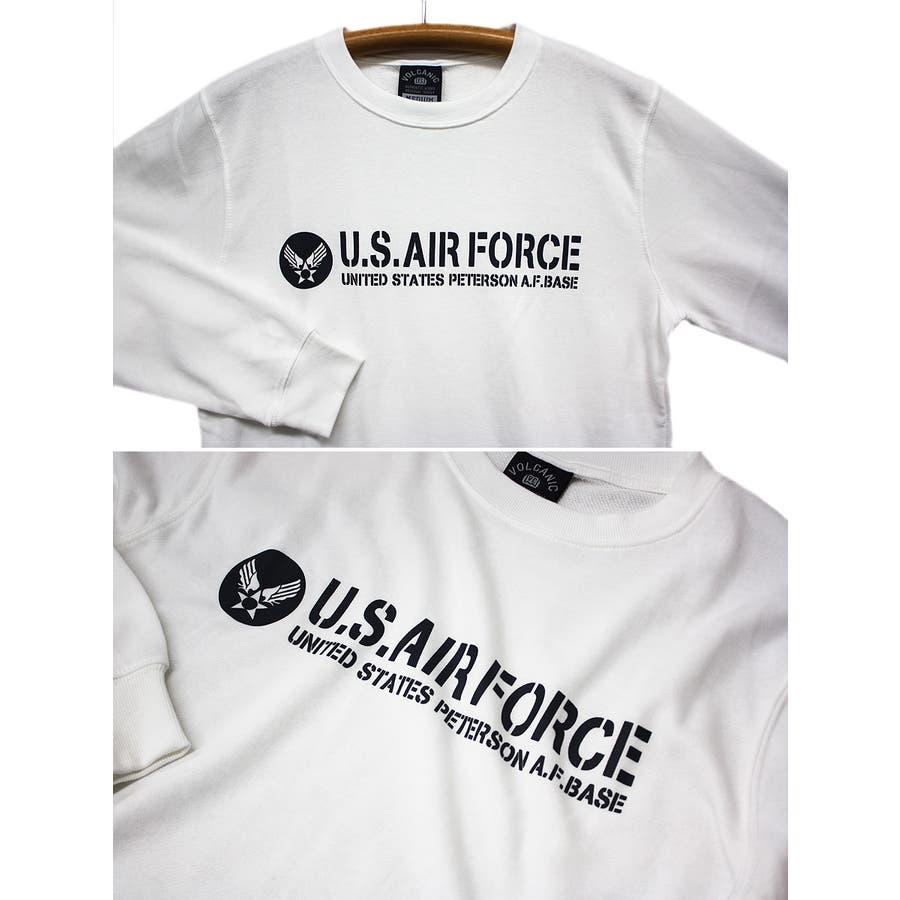 U.S.AIR.FORCE ミリタリー クルーネック スウェット トレーナー レディース OK 6