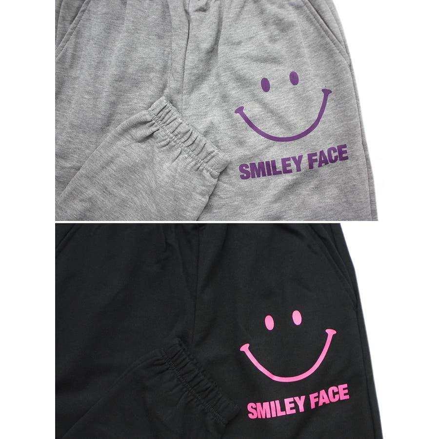 SMILEY FACE スマイル ストリート スウェット パンツ レディース OK 6