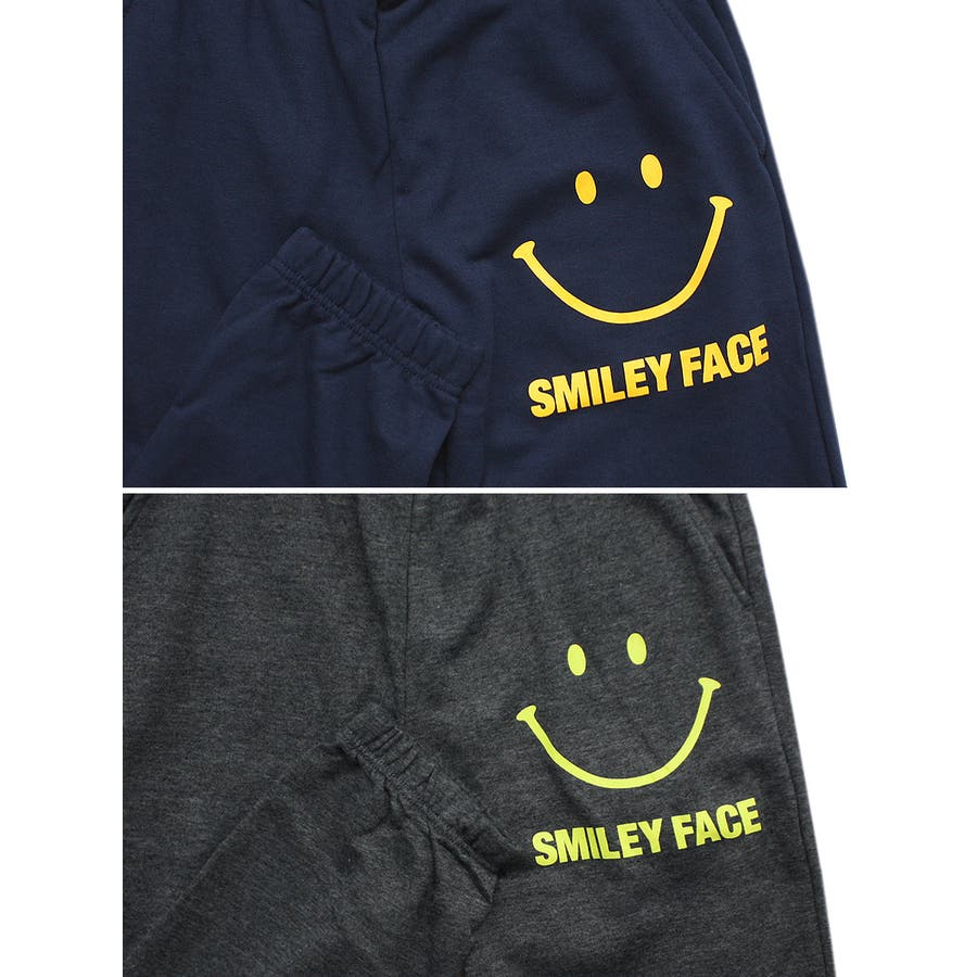 SMILEY FACE スマイル ストリート スウェット パンツ レディース OK 7