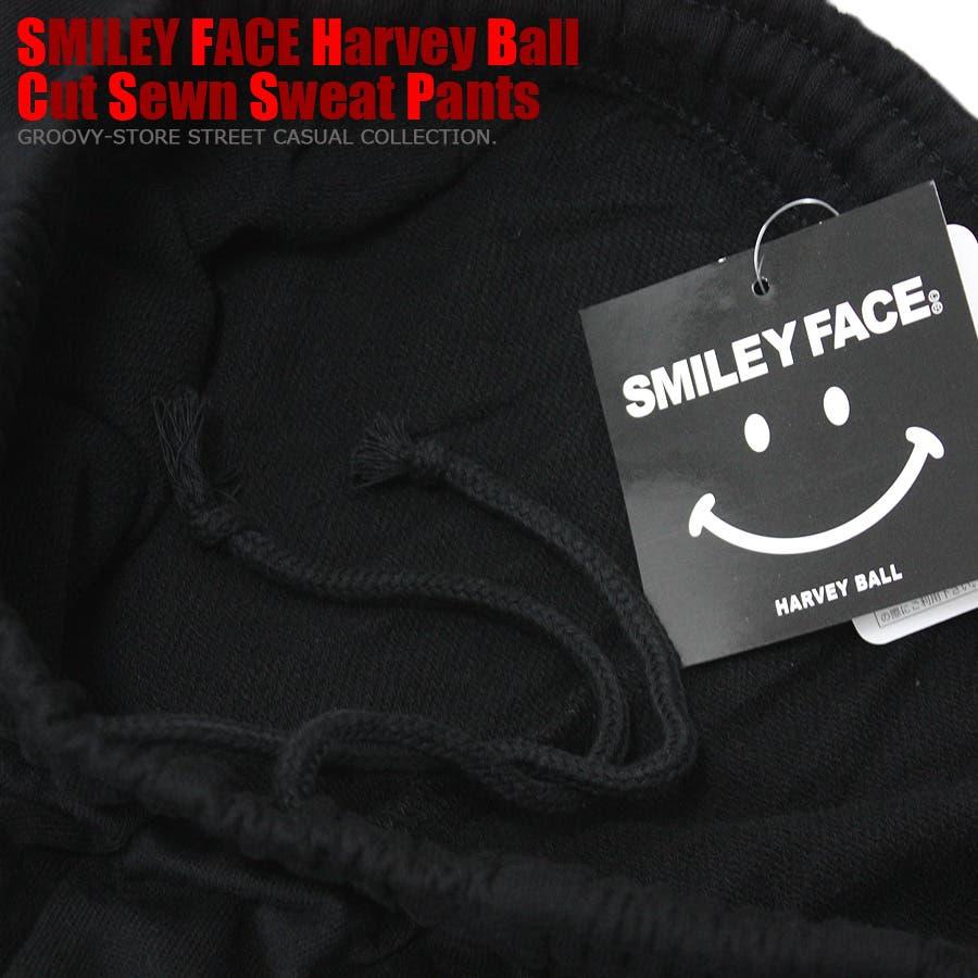 SMILEY FACE スマイル ストリート スウェット パンツ レディース OK 8