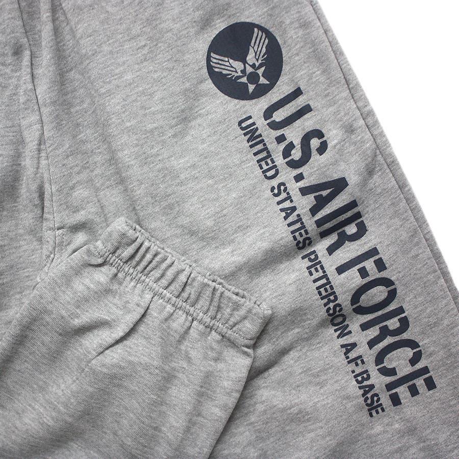 U.S.AIR.FORCE ミリタリー ストリート スウェット パンツ レディース OK 5