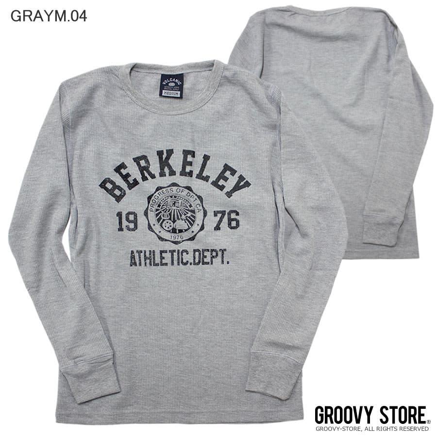ロンT BERKELEY ATHLETIC DEPT ワッフル ロングスリーブ Tシャツ 28