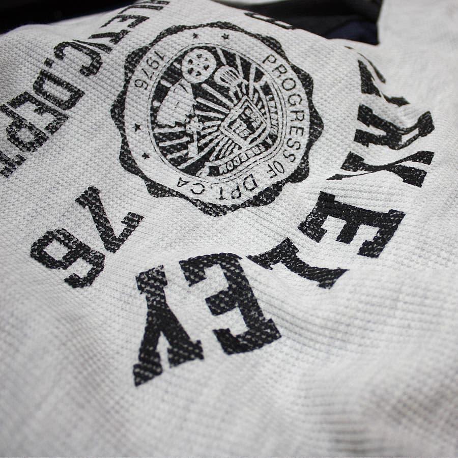 ロンT BERKELEY ATHLETIC DEPT ワッフル ロングスリーブ Tシャツ 10