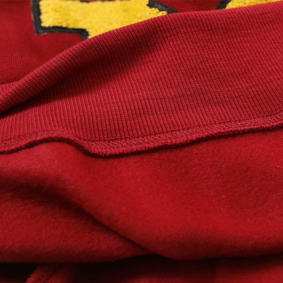 [トップス] ビッグ「M」ロゴ起毛プルオーバー [1311013A]秋 秋服 秋色 秋冬 プチプラ ロゴ トレーナー スウェット裏起毛 起毛 あったか 温か ショート チュニック プルオーバー スポーティ 部屋着 ルームウェア 7