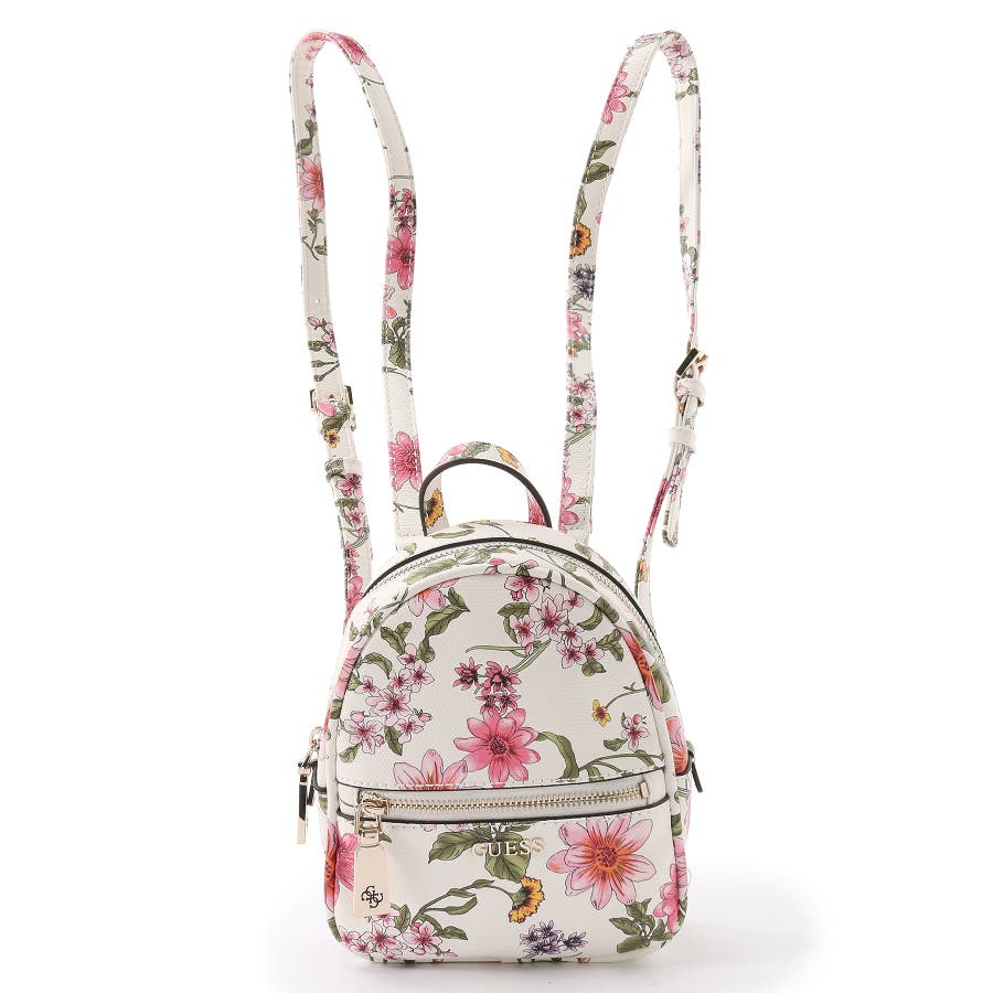[GUESS] DETAIL FLORAL MINI BACKPACK