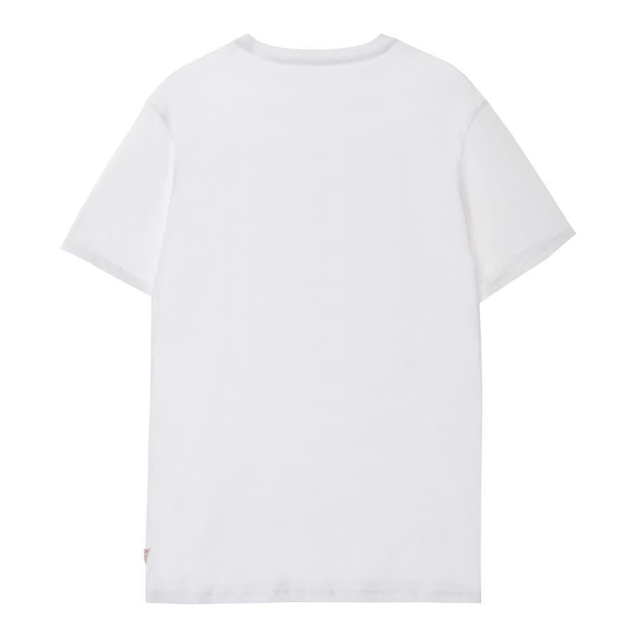 [GUESS] Tie-Dye Triangle Logo Tee 2