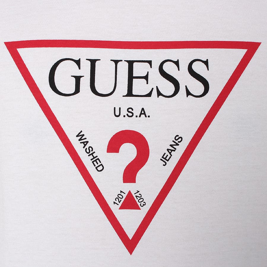 [GUESS] MEN'S S/S TRIANGLE LOGO TEE 7