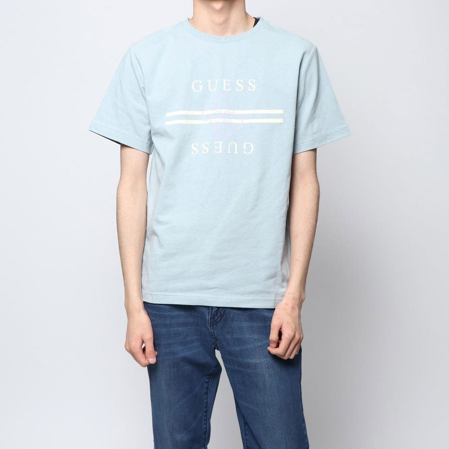 [GUESS] QUATTRO G LINE LOGO TEE 【JAPAN EXCLUSIVE ITEM】 1