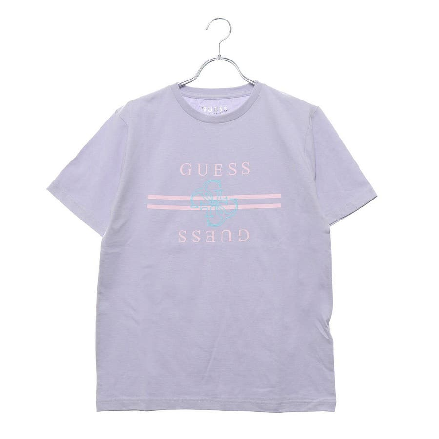 [GUESS] QUATTRO G LINE LOGO TEE 【JAPAN EXCLUSIVE ITEM】 82