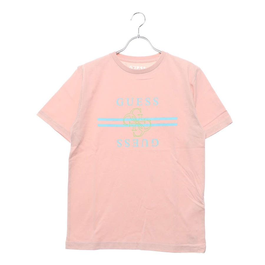 [GUESS] QUATTRO G LINE LOGO TEE 【JAPAN EXCLUSIVE ITEM】 88