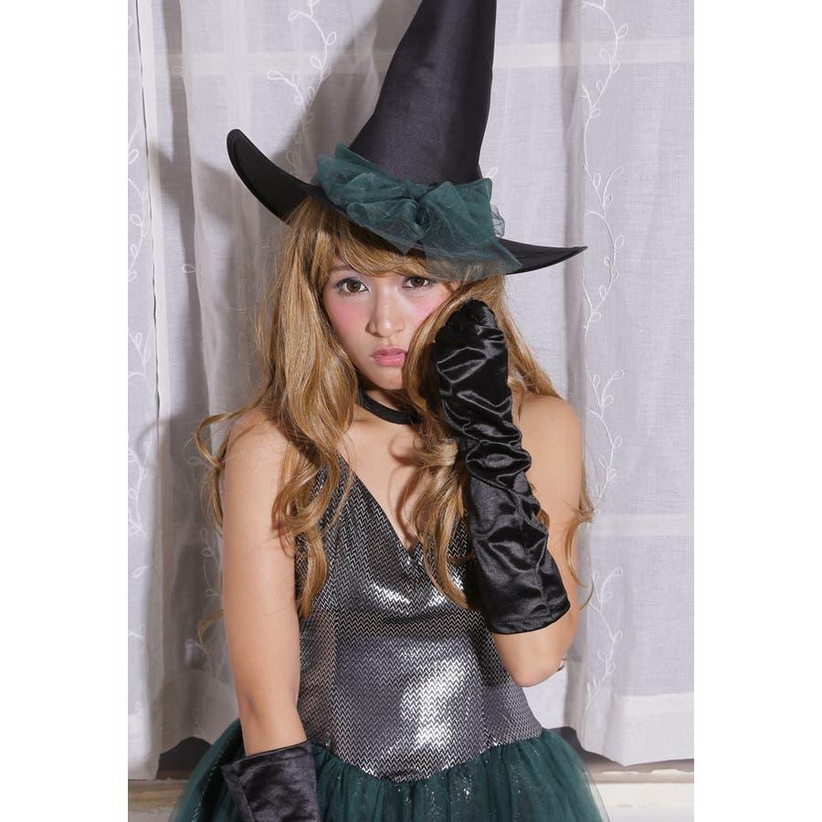 ハロウィン コスプレ ウィッチ 魔女 グリーン コスチューム 衣装 大きいサイズ 仮装 悪魔 仮装用 ハロウィーン ハロウインHALLOWEEN  9