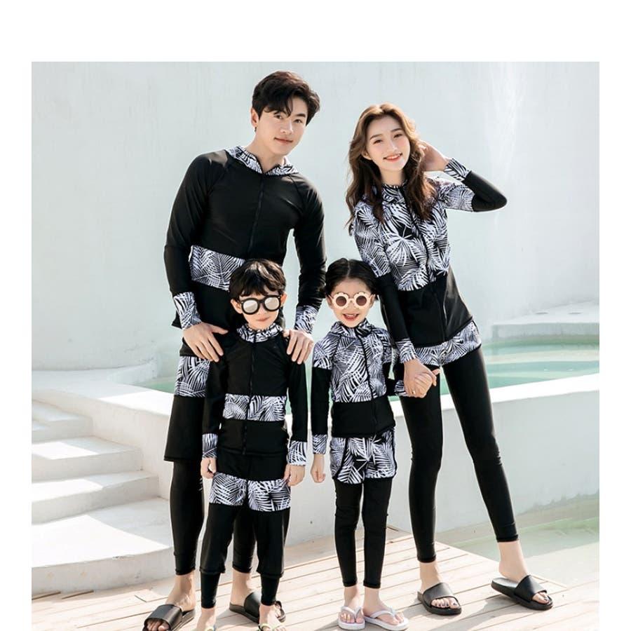 ラッシュガード キッズ水着セット ガールお揃い 家族で使える 家族お揃い 体型カバー 水着 大きいサイズ 体型カバー 水着 10