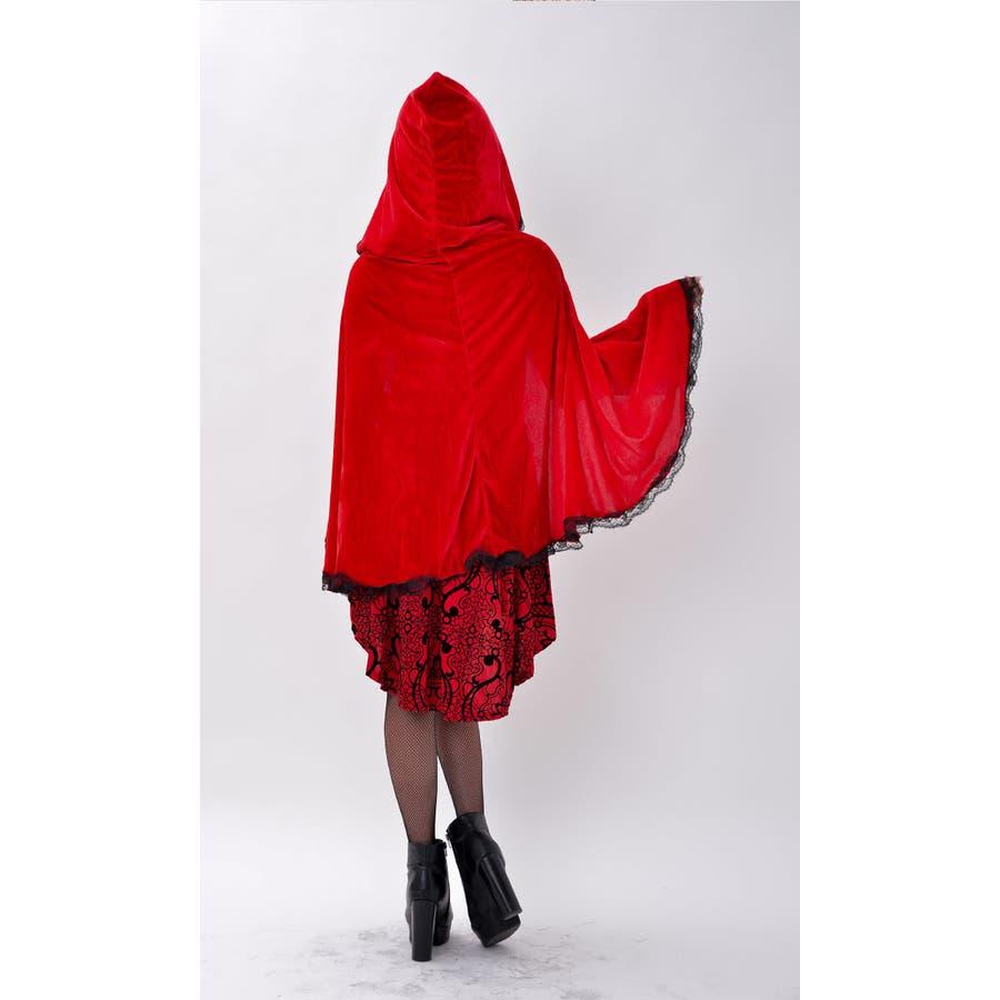 ハロウィン コスプレ 赤ずきん 赤色フードの女の子 サンタ コスチューム 衣装 仮装 ウィッチ 魔女 仮装用 クリスマス パーティーグッズ ハロウィーン ハロウイン HALLOWEEN   9