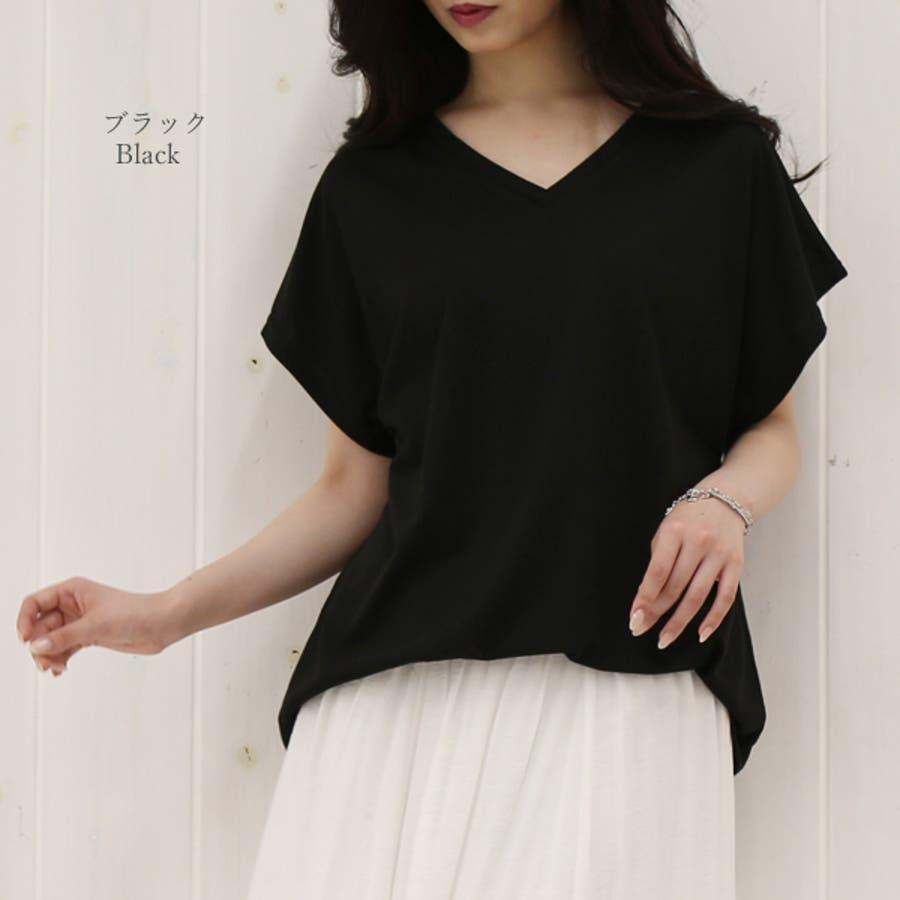全10色から選べるゆったりチュニックカットソー M L Tシャツ ゆるTシャツ レディース 秋先行 5