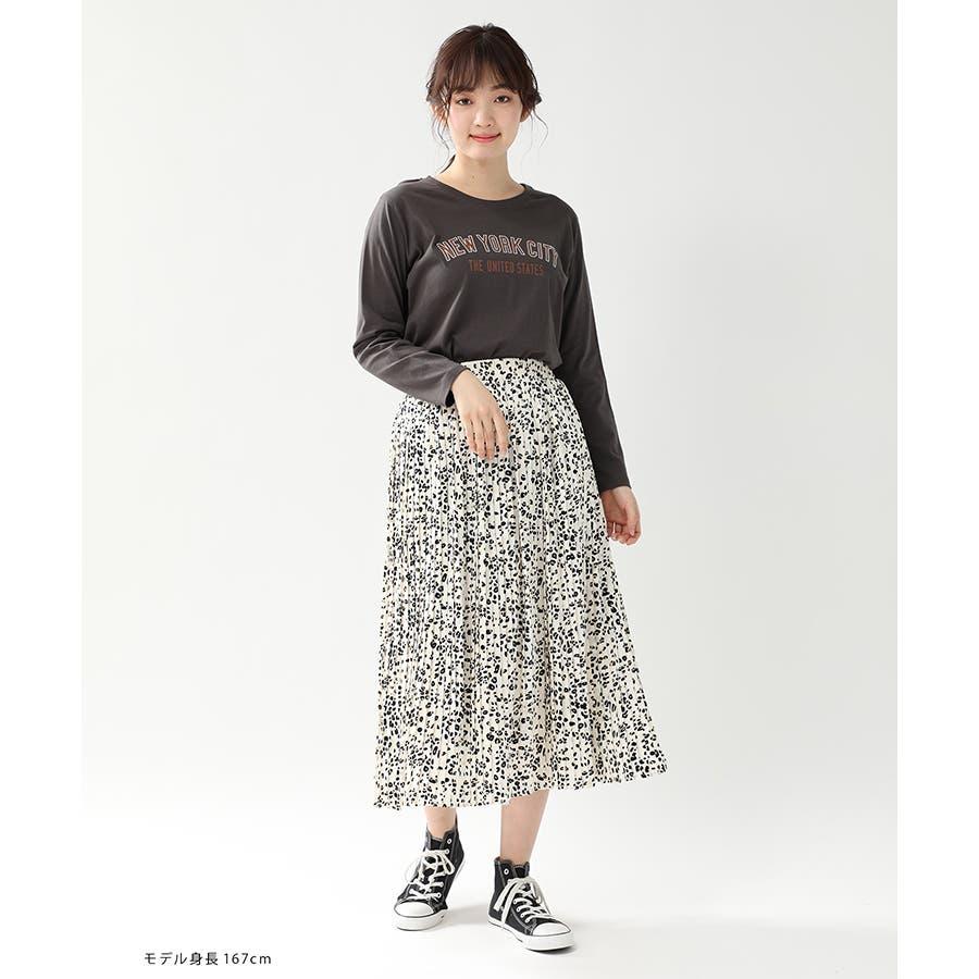 【ハニーズ】チュニック丈ロゴTシャツ 9