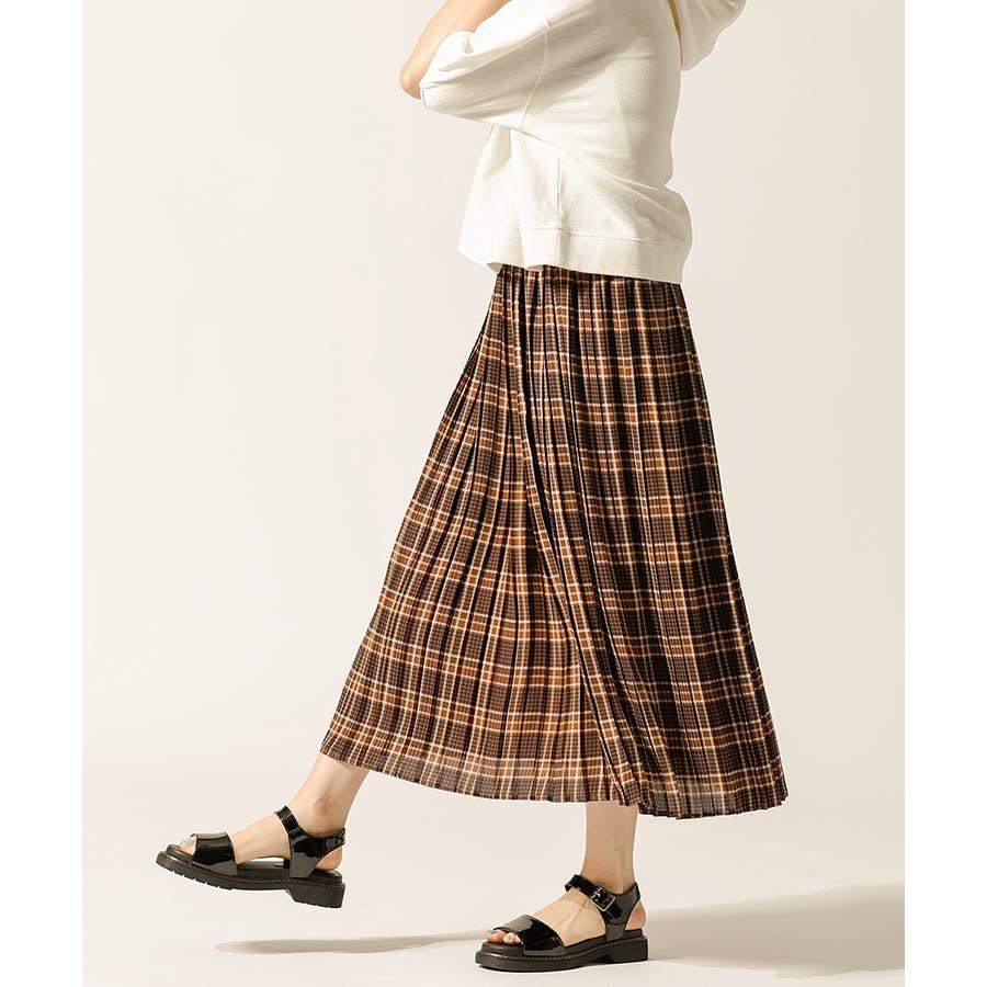 【ハニーズ】プリーツスカート 【WEB限定LLサイズ有】 29