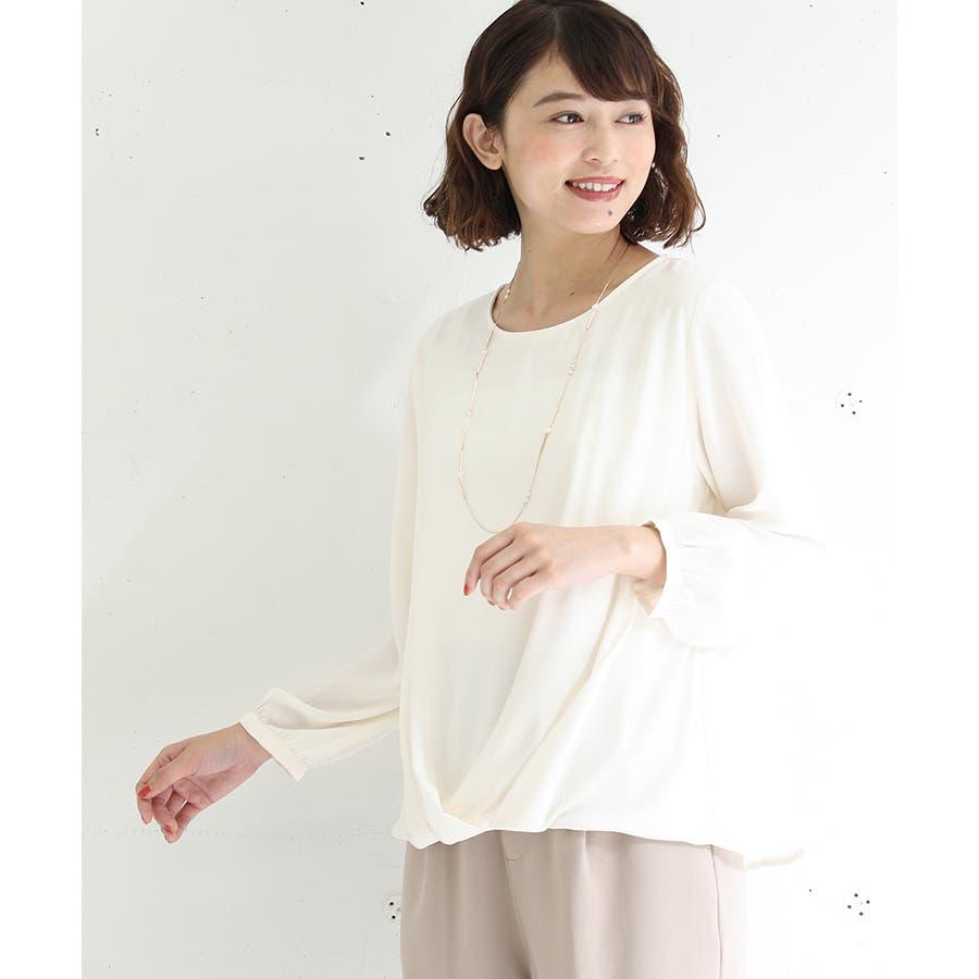 【ハニーズ】裾タックプルオーバー 18