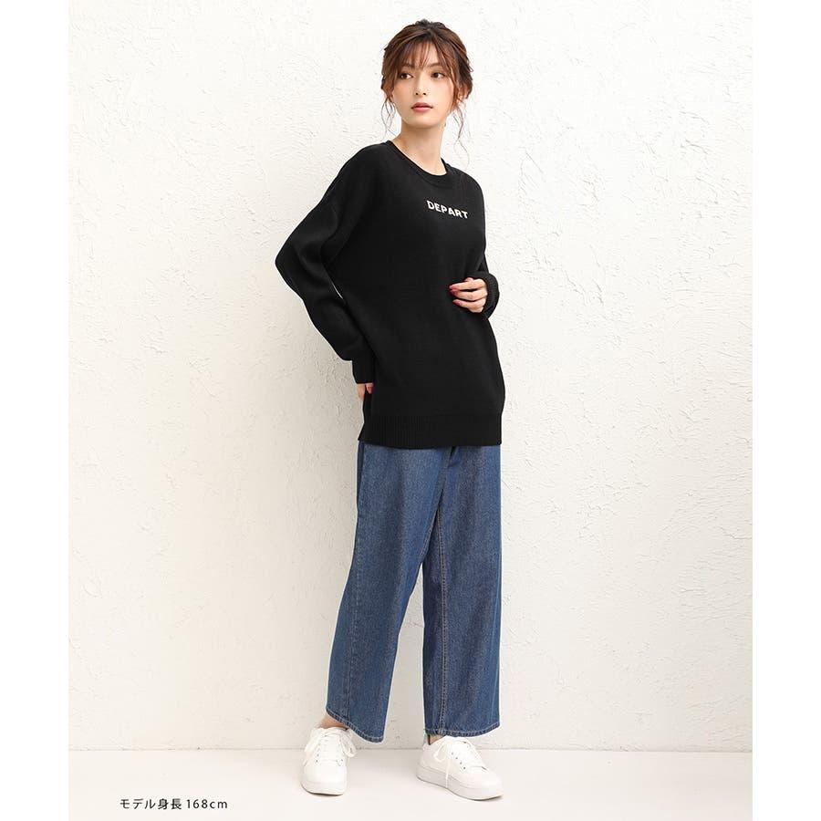 【ハニーズ】ロゴ刺繍プルオーバー 7