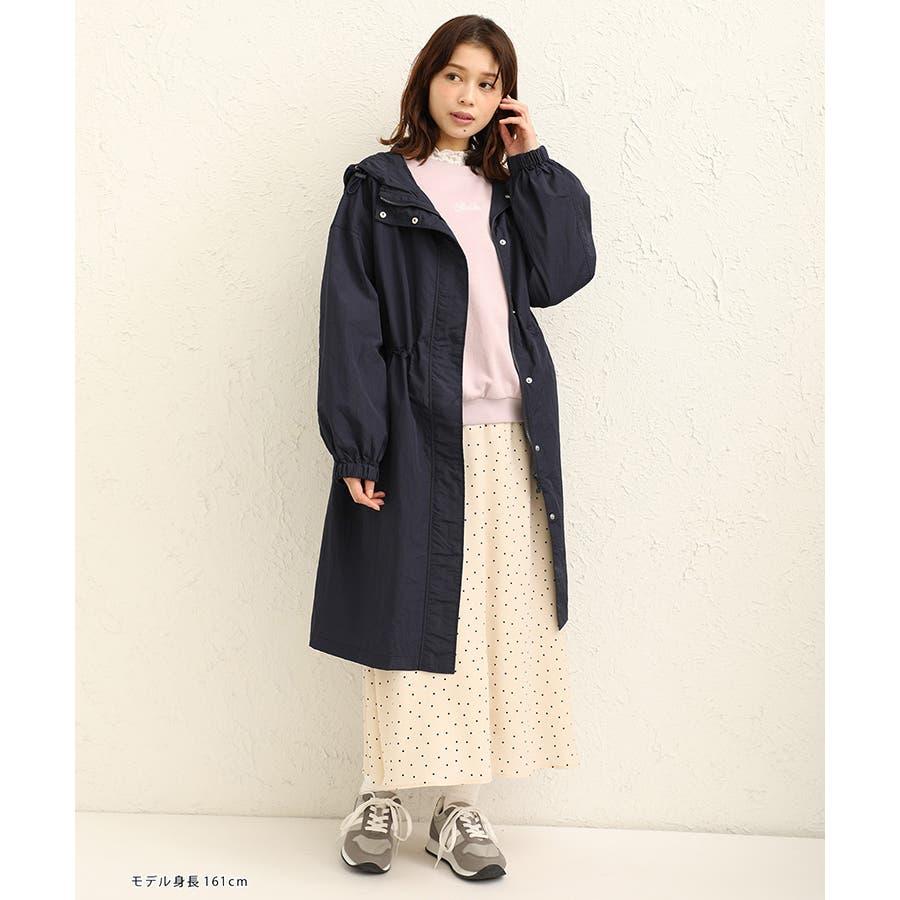 【ハニーズ】ロングフードジャケット【WEB限定LLサイズ有】 5
