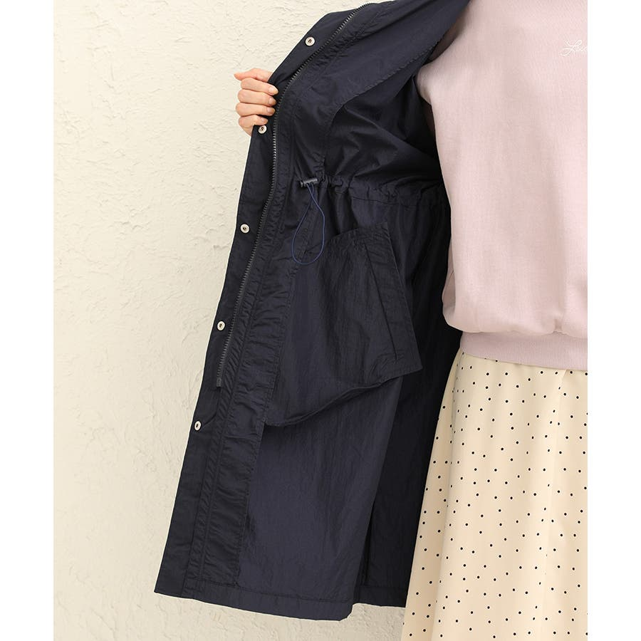 【ハニーズ】ロングフードジャケット【WEB限定LLサイズ有】 8