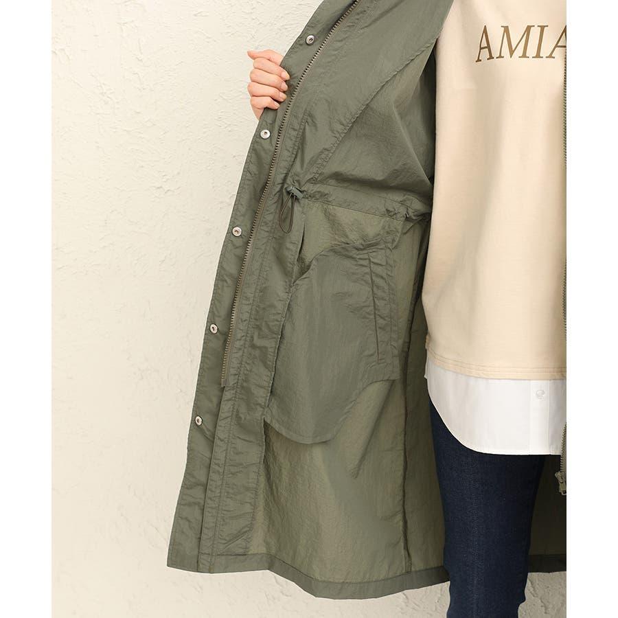 【ハニーズ】ロングフードジャケット【WEB限定LLサイズ有】 9