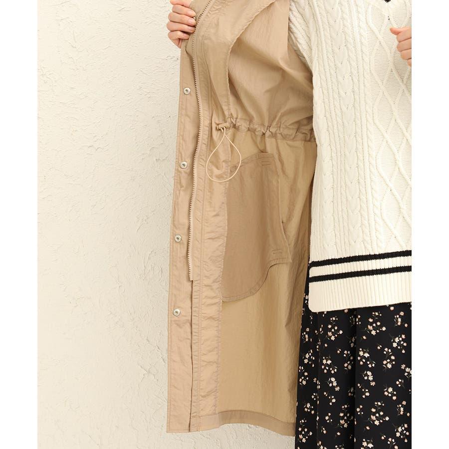 【ハニーズ】ロングフードジャケット【WEB限定LLサイズ有】 10