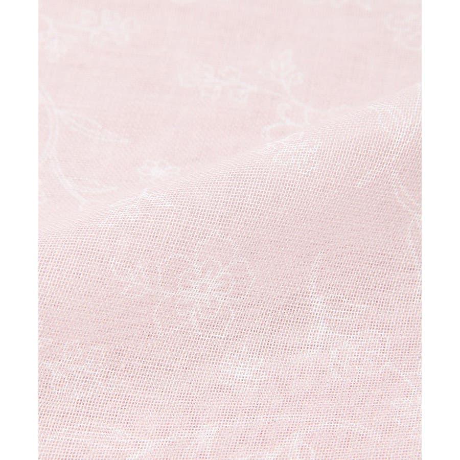 【GLACIER(グラシア)】ストール レディース 花柄 ぼかし花柄 紫外線 冷房 雑貨 小物 フェミニン 淡色 春 春新作Honeys ハニーズ 柄ストール 8