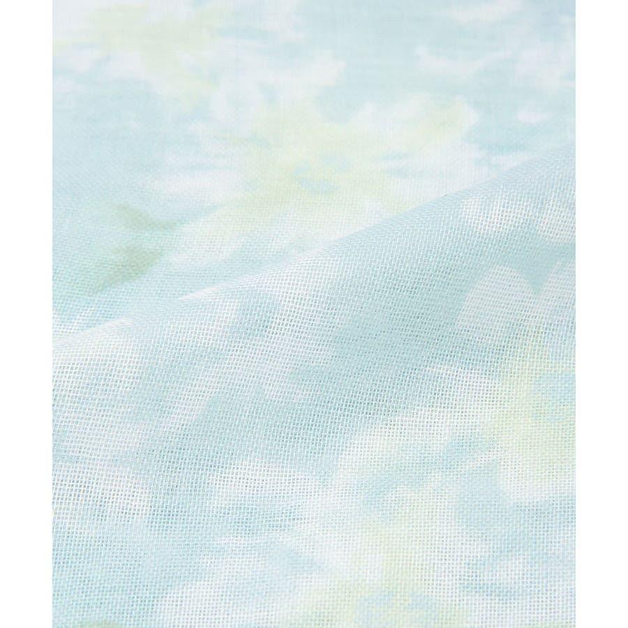 【GLACIER(グラシア)】ストール レディース 花柄 ぼかし花柄 紫外線 冷房 雑貨 小物 フェミニン 淡色 春 春新作Honeys ハニーズ 柄ストール 10