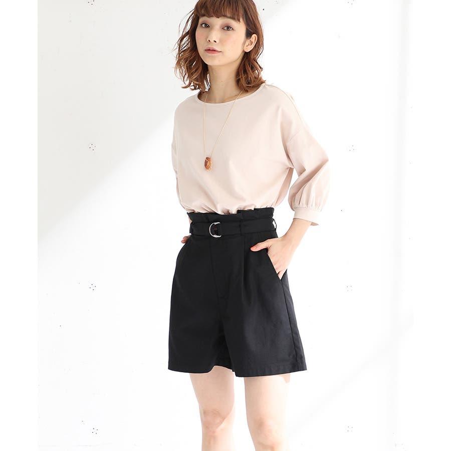 【ハニーズ】共ベルト付ショートパンツ 21