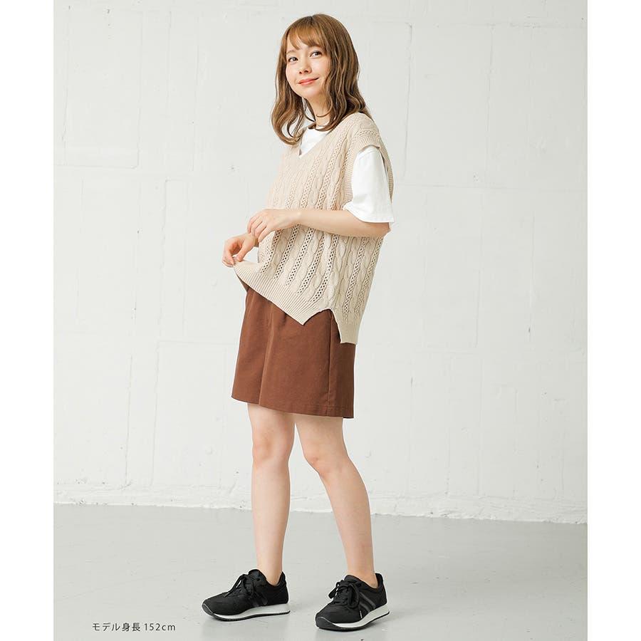 【ハニーズ】共ベルト付ショートパンツ 10