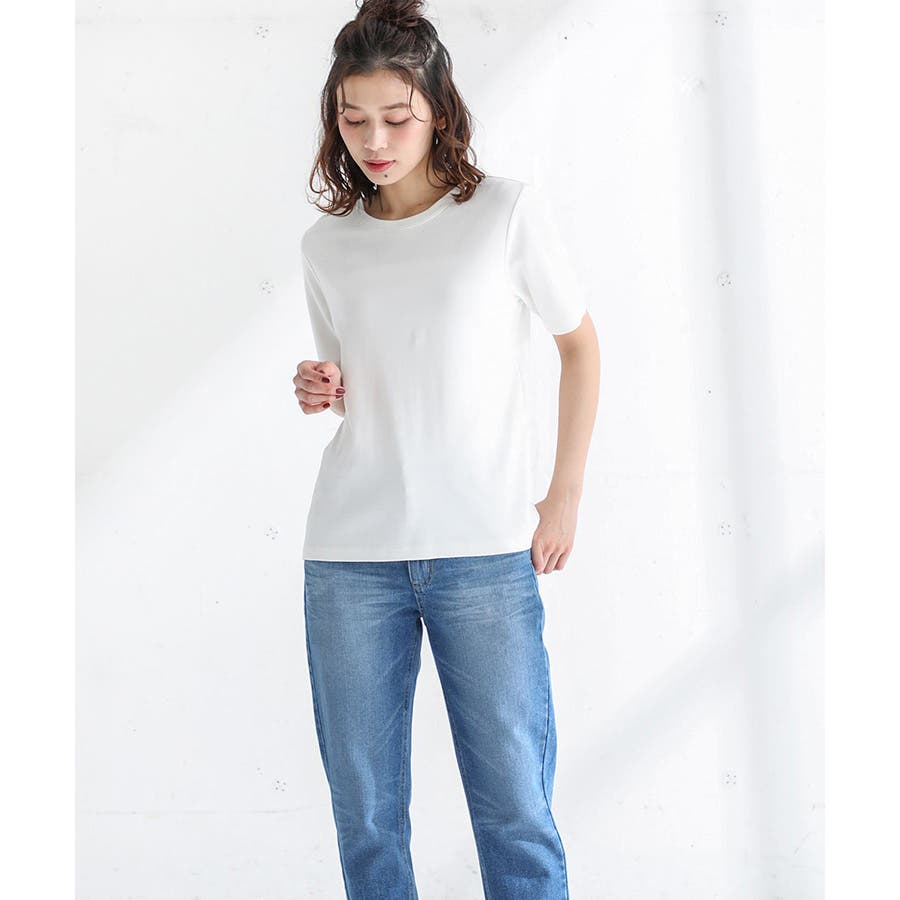 【ハニーズ】半袖クルーネックTシャツ 17