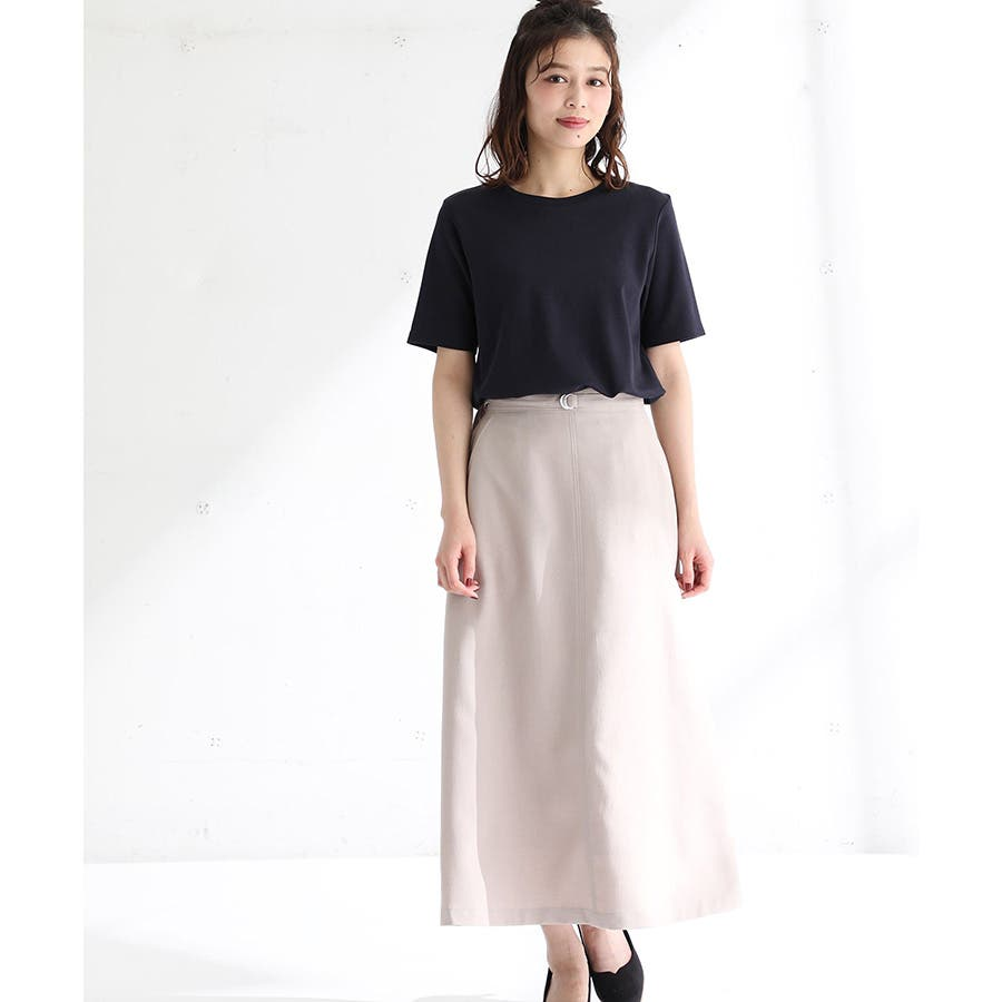【ハニーズ】半袖クルーネックTシャツ 64