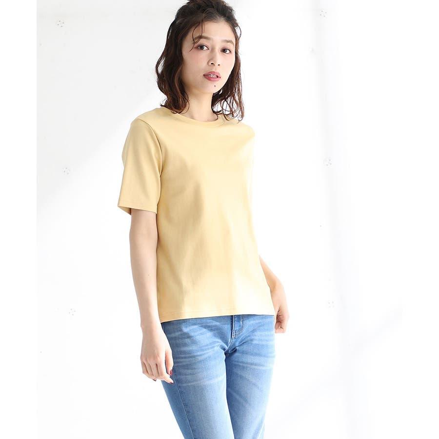 【ハニーズ】半袖クルーネックTシャツ 83