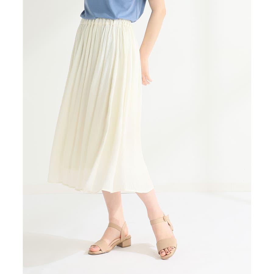【ハニーズ】ロングギャザースカート 17