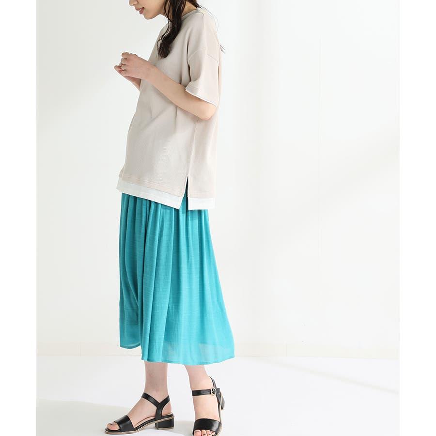 【ハニーズ】ロングギャザースカート 47