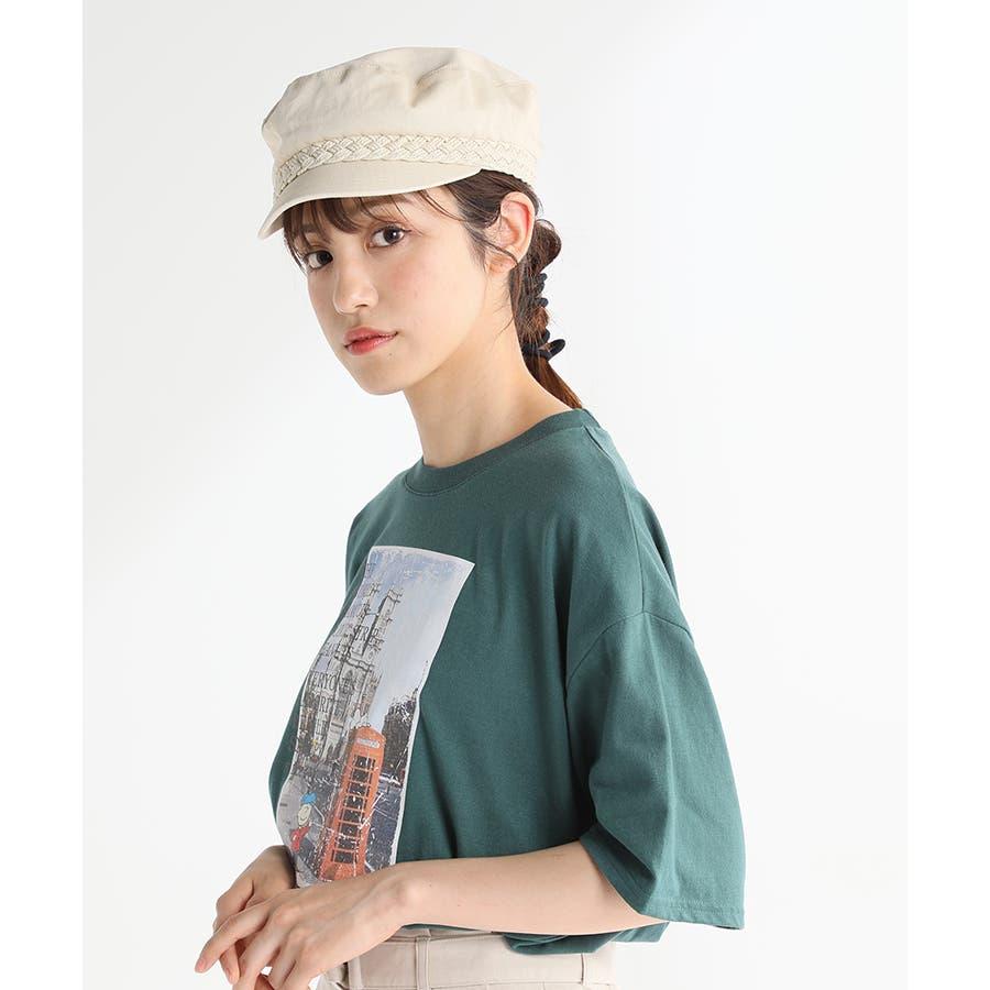 【COLZA(コルザ)】帽子 キャップ レディース 夏 おしゃれ マリンキャップ 麻調 カジュアル サイズ調整 Honeys ハニーズマリンキャップ 7