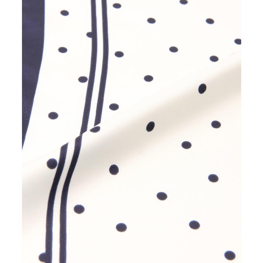 【COLZA(コルザ)】スカーフ 正方形 レディース おしゃれ チェーン柄 水玉 ドット エスニック柄 春 夏 秋 冬 夏新作Honeys ハニーズ スカーフ 10