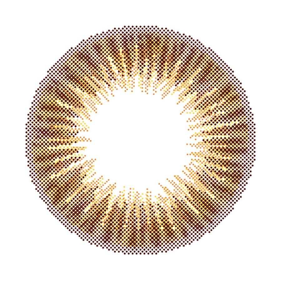 度あり10枚 ロワールブラウン シピワンデー Chipi 1day DIA:14.5mm 八鍬里美(さとみん) ワンデー カラコンカラーコンタクトレンズ 2