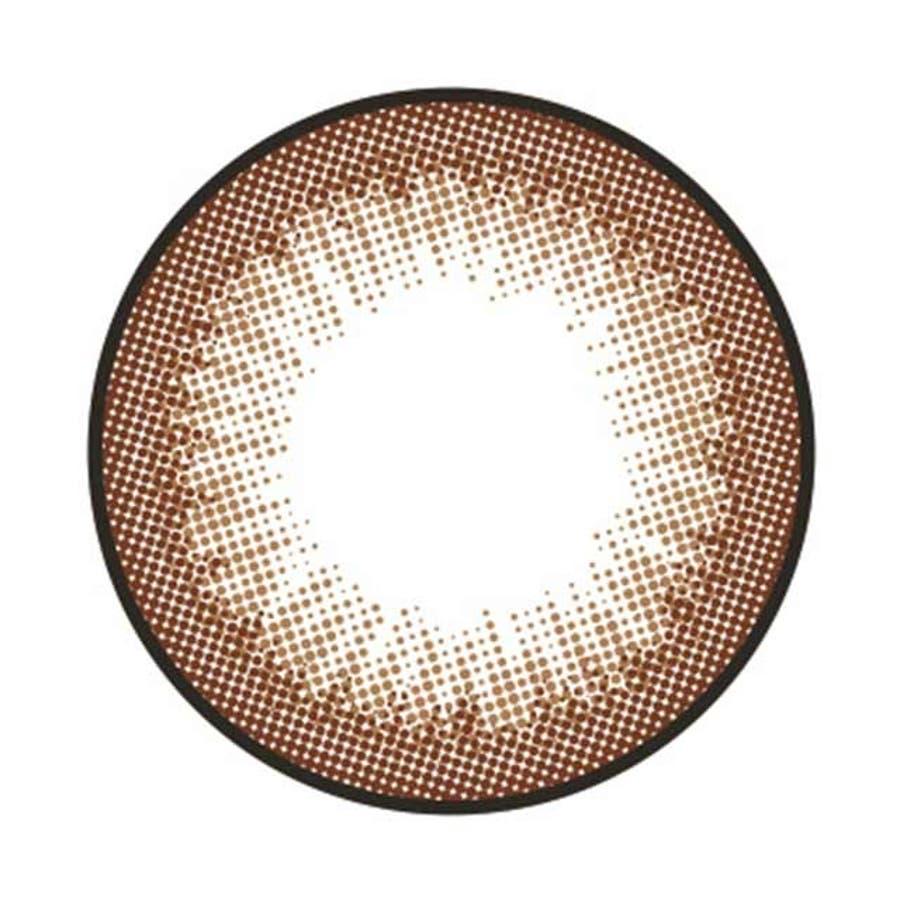 カラコン アイラボ ツーウィーク バイ ゼル 【1箱6枚入】 度あり 度なし DIA:14.0 14.2 EYELABO2weekby ZERU ナチュラル 3トーン 2週間装用 カラーコンタクト コンタクト 40