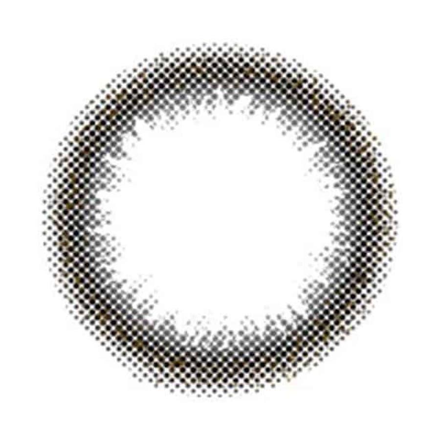 カラコン アイメイク マンスリー 【1箱2枚入】 度あり 度なし 14.0mm 山崎春佳 eyemake ナチュラル1ヶ月1month 22